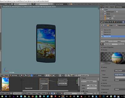 Blender 3d Moto G5s Plus Modeling Work