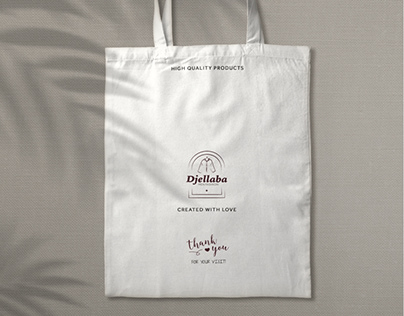Djellaba Fashion, professional branding and logo design