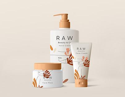 RAW- Skin care Branding
