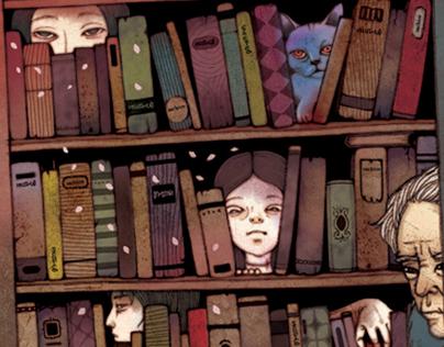 かたみ歌 사치코서점 (a secondhand bookstore 'sachiko')