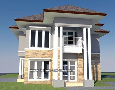 Desain Villa di Trawas