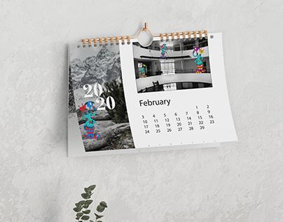 Photo Illustration Calendar