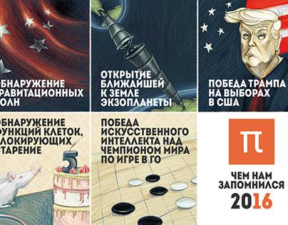 Новогодняя открытка 2016