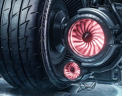 Bridgestone // POTENZA Launching Campaign