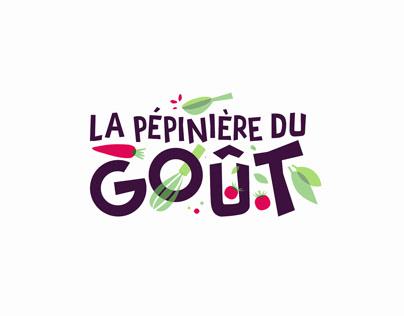 La Pépinière du Goût—Branding