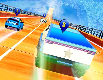 Cyber Truck GT Stunts