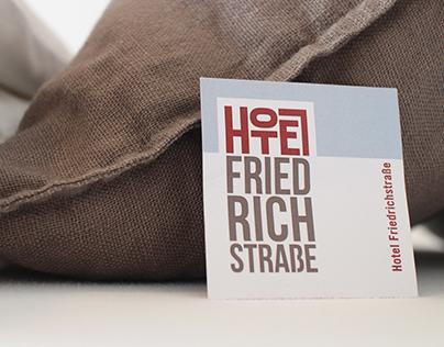 Corporate-Design Hotel Friedrichstraße