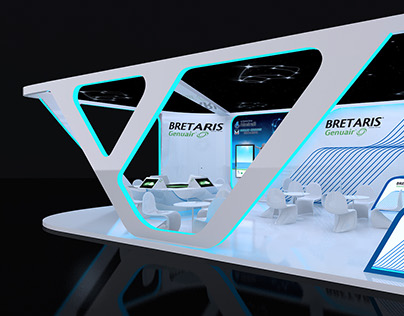 Bretaris stand exhibition