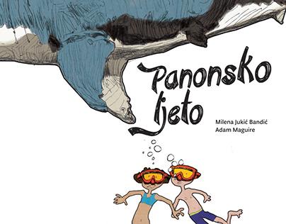 Children's book illustrations for PP Papuk & Smak