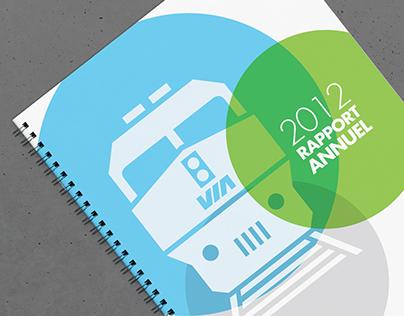 VIA Rail - Rapport Annuel 2012