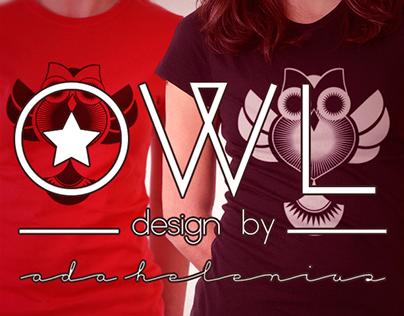 OWL: T-Shirt Print Design