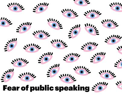 Longread about fear of public speaking
