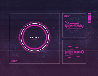 Concept Art Space Game
