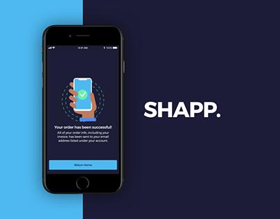 Shapp | eCommerce Shopping Mockup