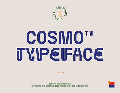 Cosmo Typeface