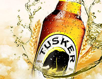 Tusker Lager - 100 days of Design