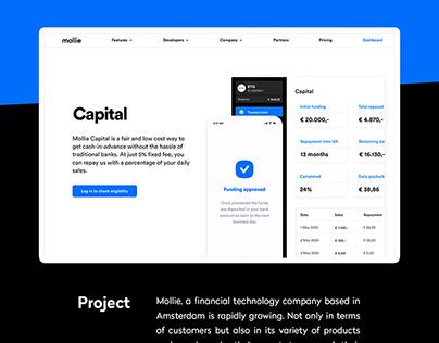 Capital management dashboard