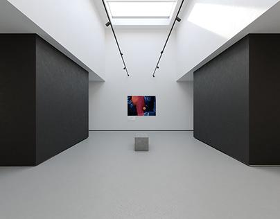 Virtual Reality Art Gallery 2020 4k (CGI)