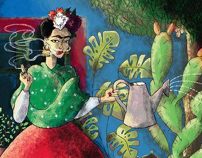 scusi il disturbo signora Kahlo