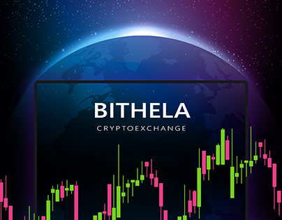 Cryptocurrency Exchange - Bithela. UX/UI & Branding