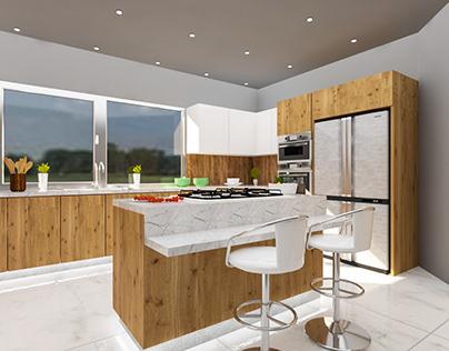 Kitchen Model(Option 1)