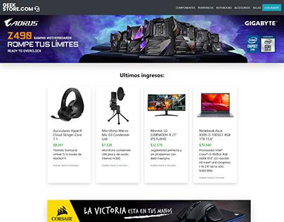 Proyecto GeekStore.com