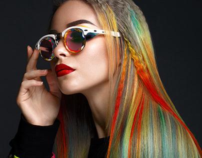 Rainbow hair 2