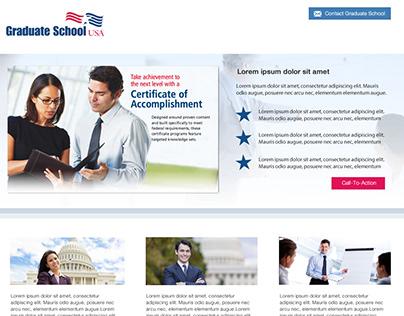 GraduateSchoolUSA - Landing Pages