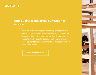 Pixelden Website