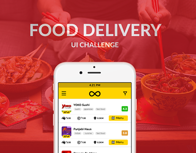 Food Delivery - UI Challenge