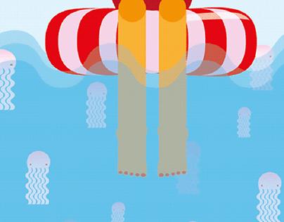 ¡Hay medusas!