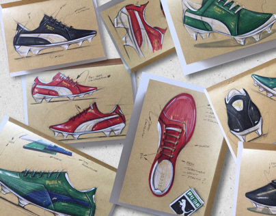 "PUMA SUEDE ""sketch-Ideation"""