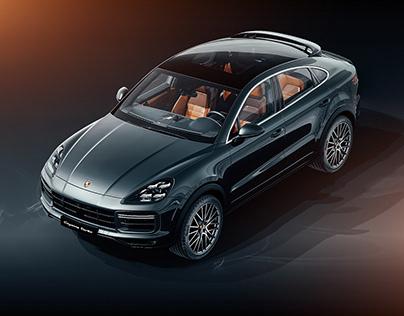 Porsche Cayenne Coupè - Studio