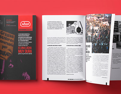 Boletín mensual para la filial sindical ADES Montevideo