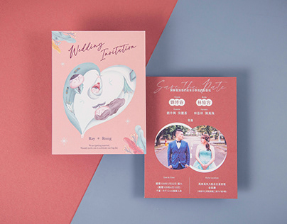Ray&Rong|喜帖設計 wedding invitation design