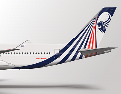 Air France fictitious concept livery