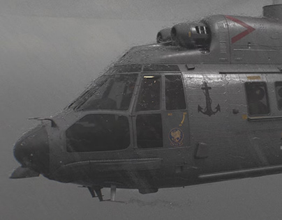 Chopper Heavy Rain Simulation