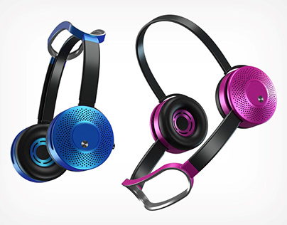 Dyson Air Purifying Headphones Concept