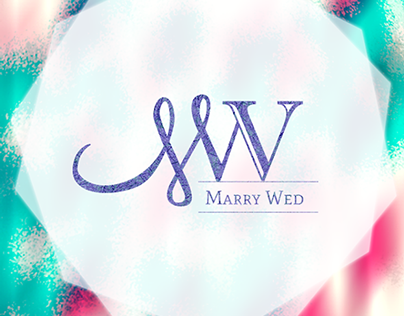 Marry Wed Logo and brochure design- 2013