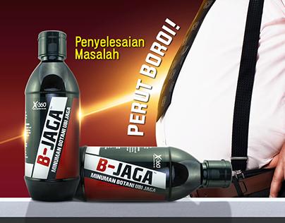 B-JAGA Advertisement Design