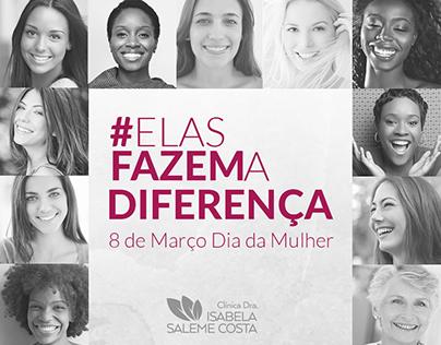 Isabela Saleme - Mídias Sociais - #ElasFazemADiferença