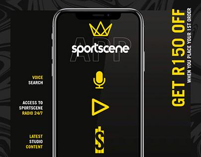 sportscene App launch