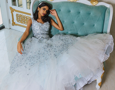 Bridal shoot - Briella The Wedding Attire