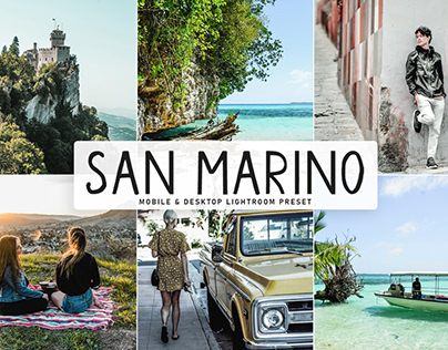 Free San Marino Mobile & Desktop Lightroom Preset