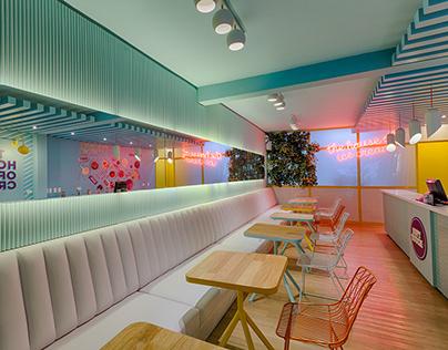 SOFT TOUCH AV. JARDÍN / Diseño Restaurante