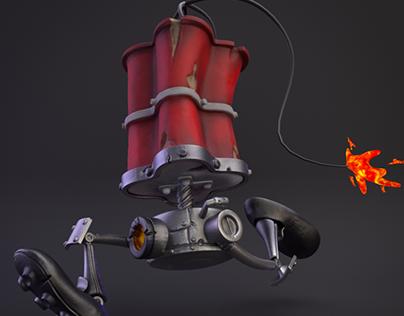Roboleg dynamite (Tinker bomb)