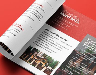 Wood Brick — square book editorial & layout design