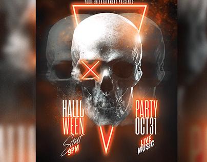Halloween Poster (PSD) Photoshop