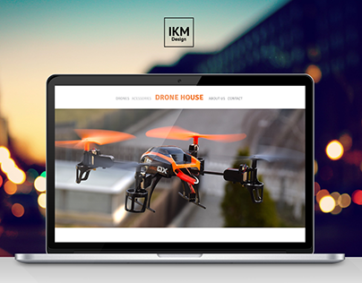 Drone House - Simple Website Business Card