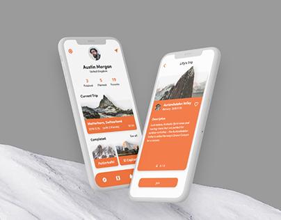 Hiky - Hiking App